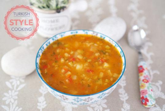 Vegetable Bulghur Soup