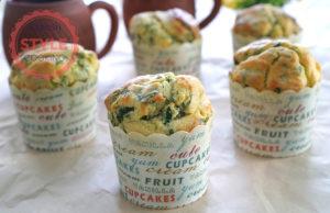 Spinach Muffins Recipe