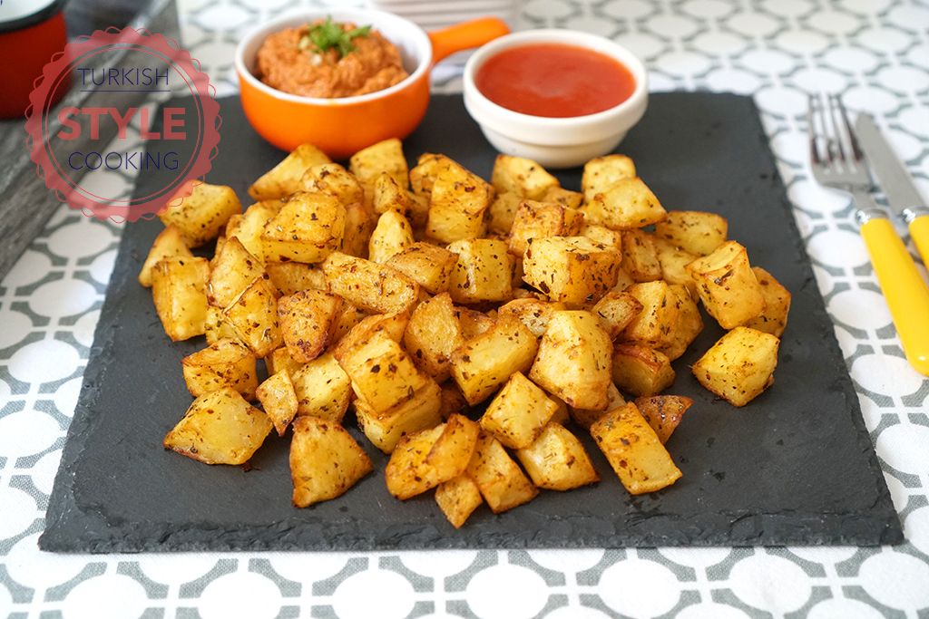 Baked Spicy Potatoes Recipe