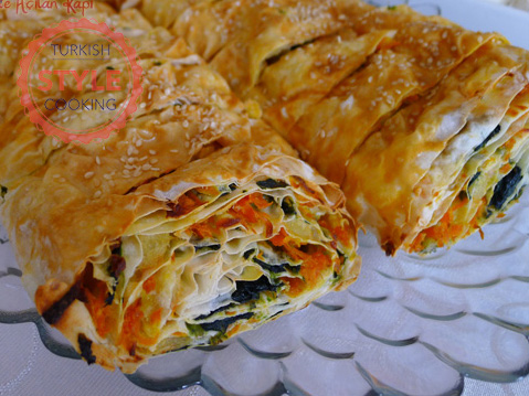 Borek with Three Fillings Recipe
