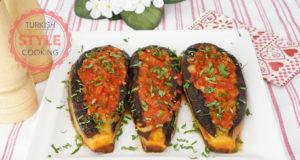 Imambayildi (Baked Eggplant with Tomato Sauce) Recipe