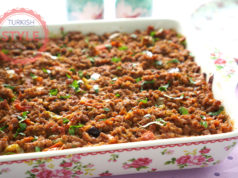 Turkish Moussaka Recipe