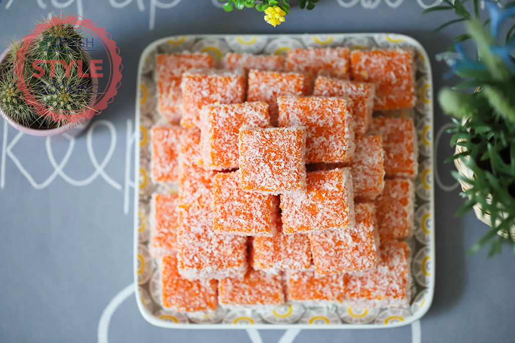 Carrot Lokum Recipe