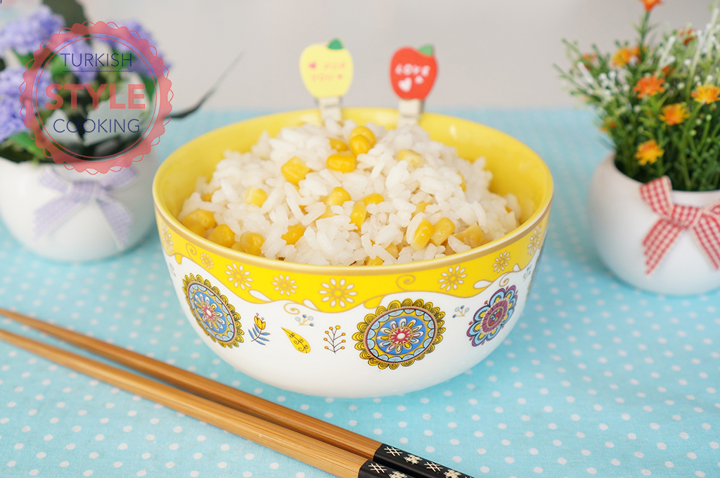 Rice Pilaf With Corn Recipe