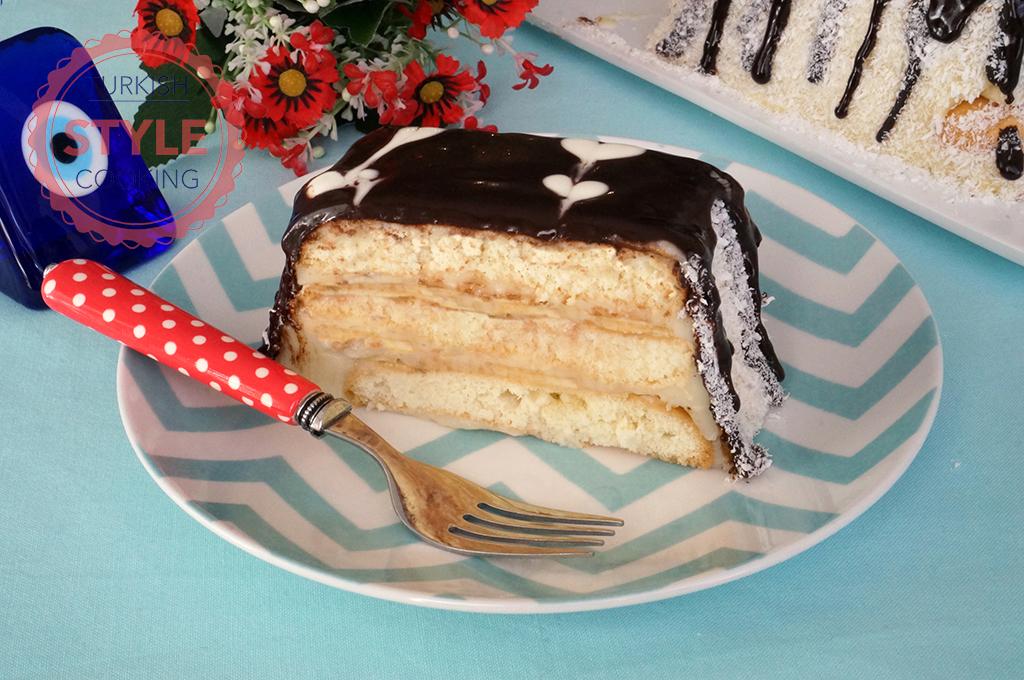 Easy Ladyfinger Cake With Banana Recipe