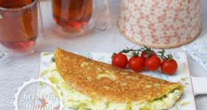 Zucchini Omelette Recipe