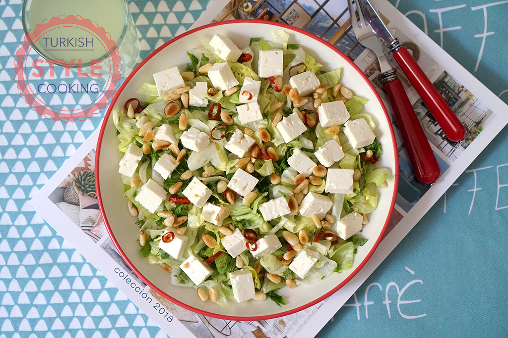 Green Salad With Feta Cheese Recipe