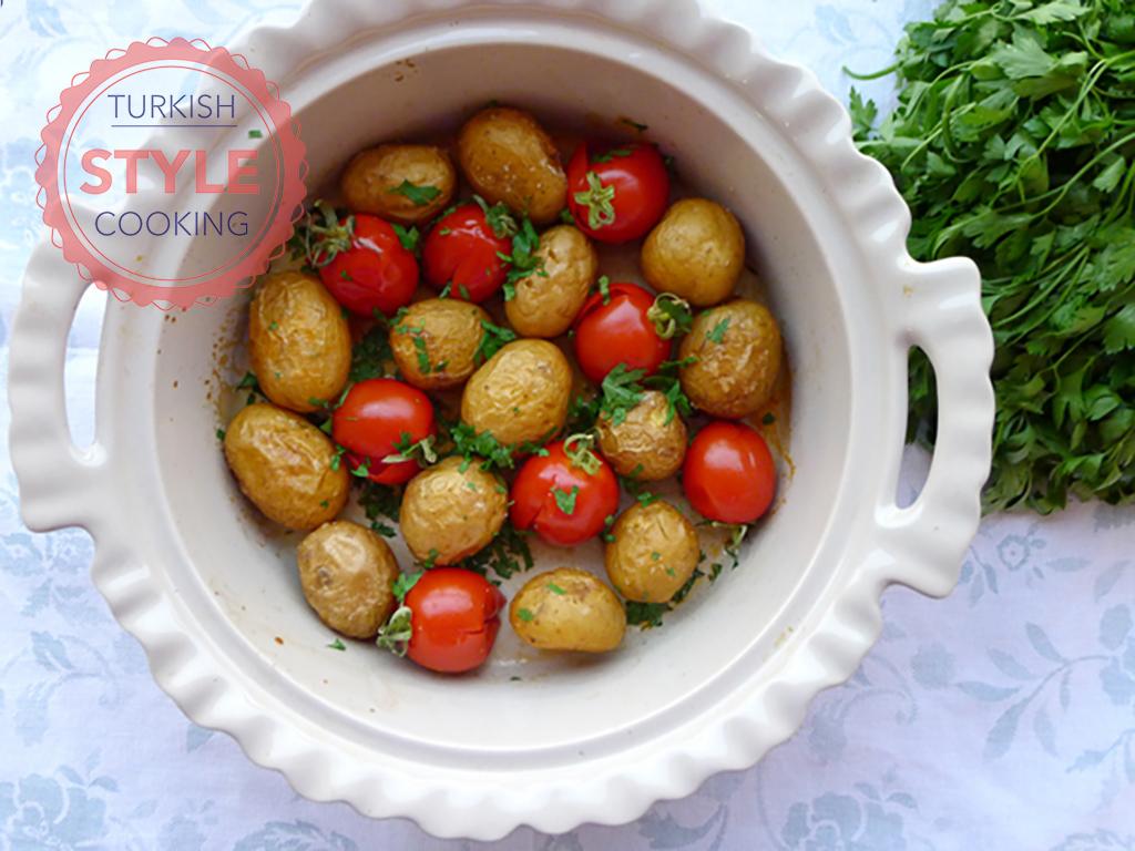 Baked Whole Potatoes Recipe