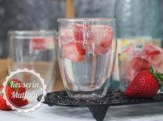Strawberry Ice Cubes Recipe