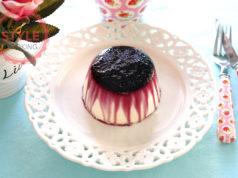 Black Mulberry Sauce Panna Cotta Recipe