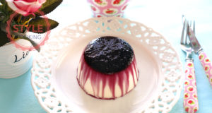 Black Mulberry Sauce Panna Cotta Recipe