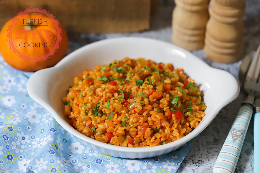 Vegetable Bulgur Pilaf Recipe