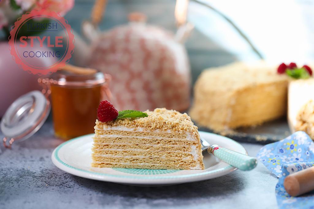 Russian Honey Cake Medovik Recipe