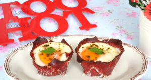 Baked Bacon Egg Bowls Recipe