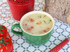 Vermicelli Soup With Dried Tomatoes Recipe
