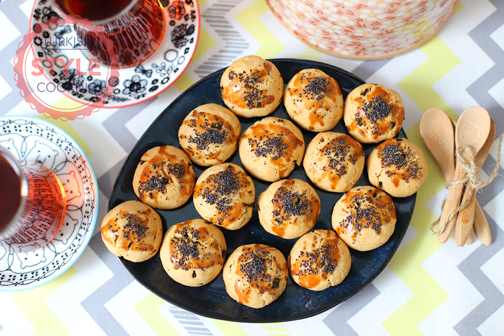 Savory Scallion Cookies Recipe