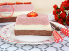Strawberry Semolina Custard Recipe