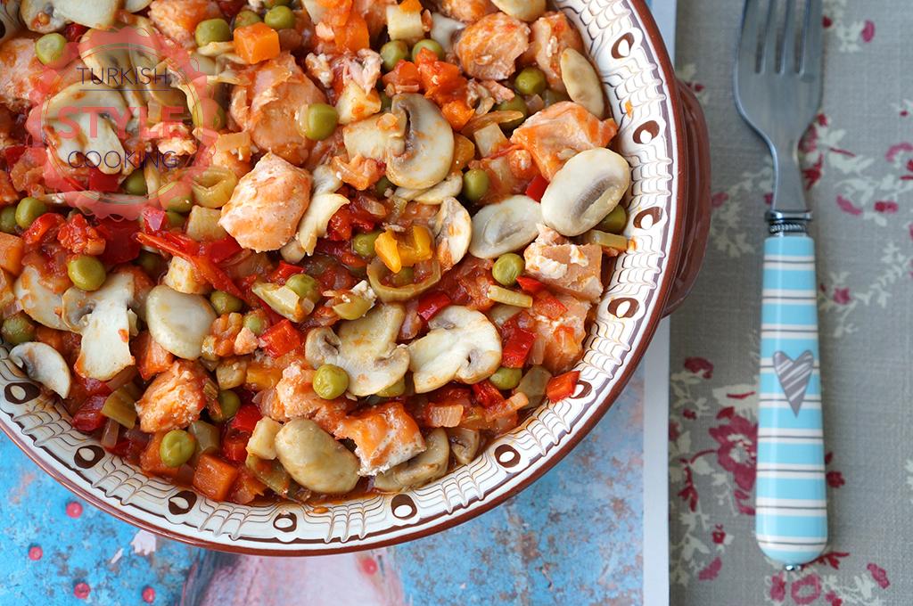 Baked Salmon Stew Recipe