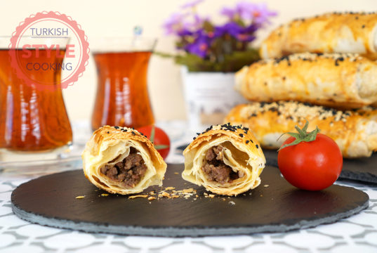 Ground Meat Phyllo Rolls Recipe