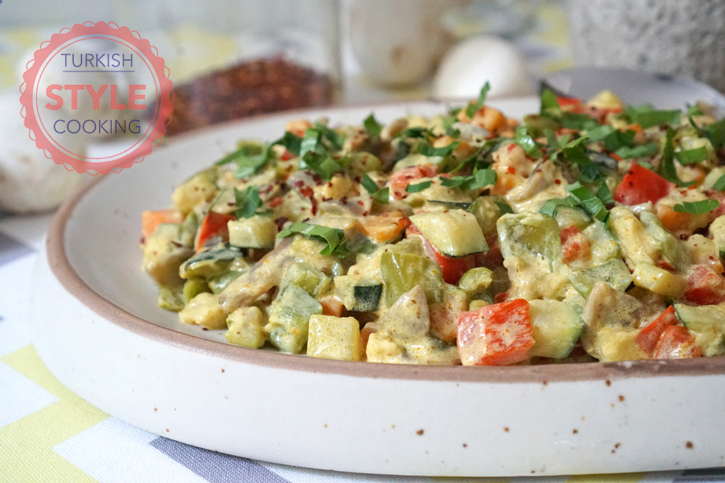 Sauteed Vegetables With Curry Recipe