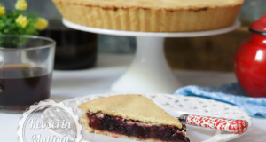 Peach And Black Mulberry Tart Recipe
