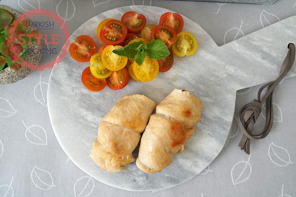 Mushroom Stuffed Chicken Recipe
