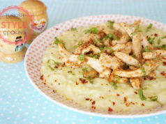 Chicken With Zucchini Bechamel Sauce Recipe
