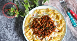 Minced Meat Sauce Pasta Recipe