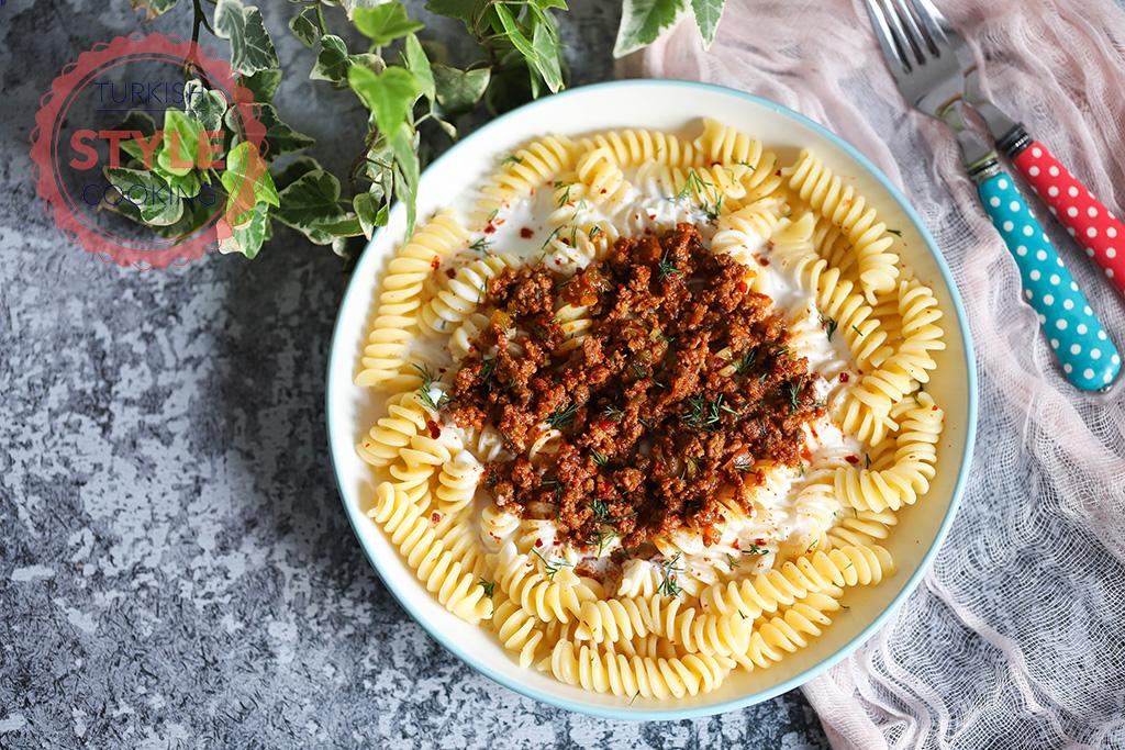Minced Meat Sauce Pasta Recipe