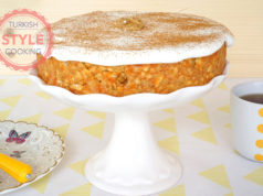 Carrot Biscuit Mosaic Cake Recipe