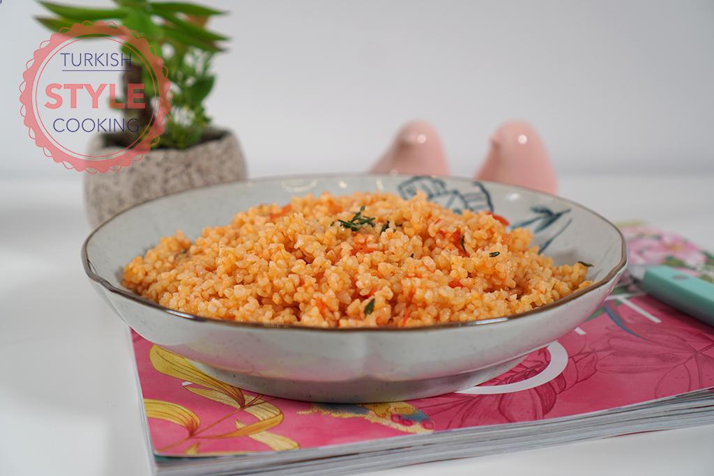 Tomato Bulgur Pilaf Recipe