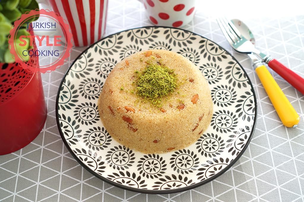 how to make halva with semolina