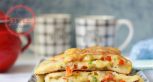 Potato And Pepper Omelette Recipe