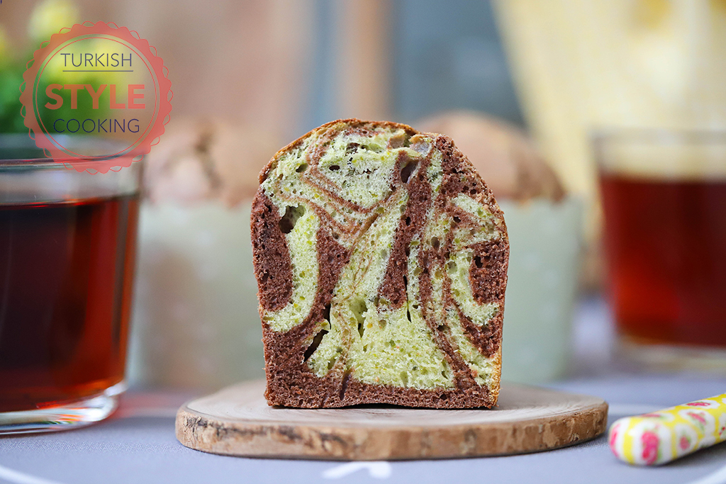 Pistachio Mosaic Muffin Recipe