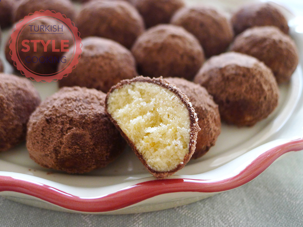 Cocoa Covered Cookies Recipe