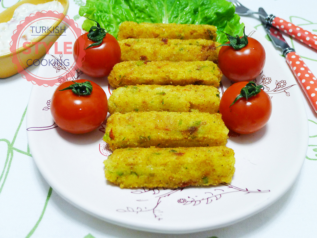 Pepper Potato Croquettes Recipe
