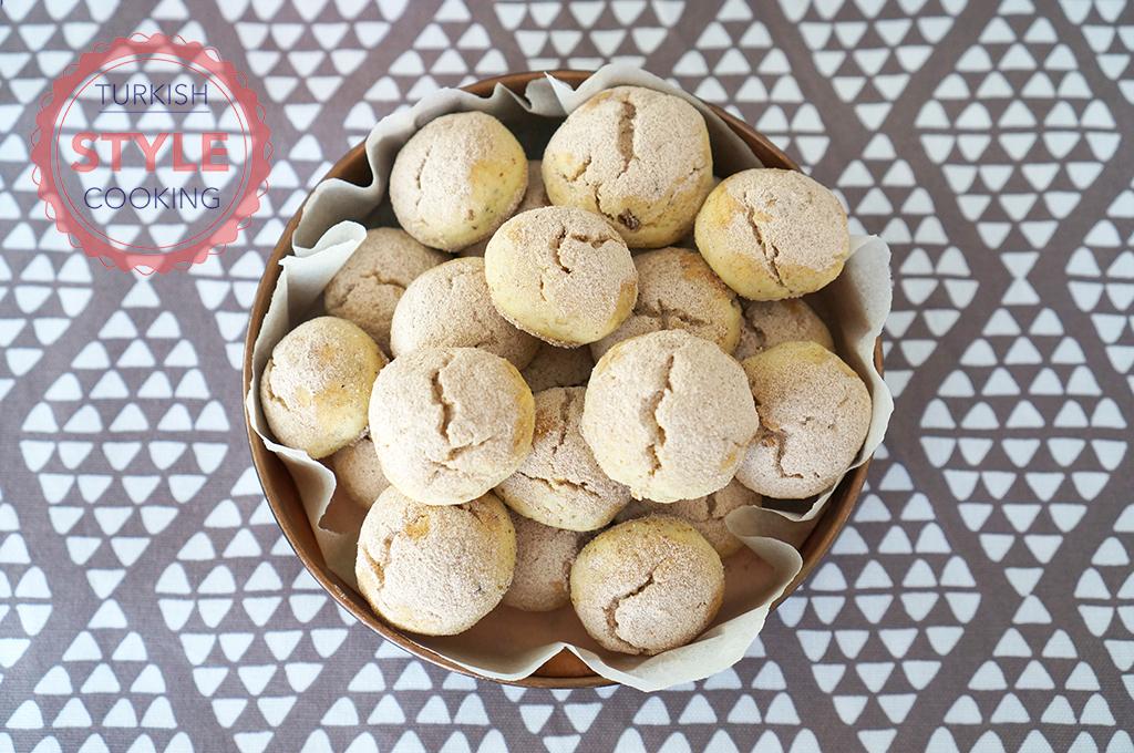 Walnut Cinnamon Cookies Recipe