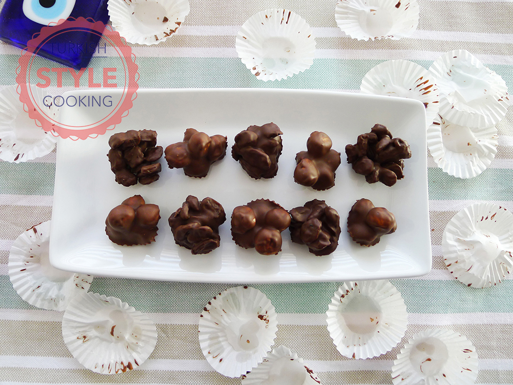 Chocolate Covered Raisin and Nuts Recipe