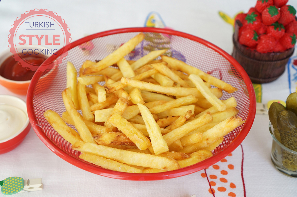 Crispy French Fries Recipe