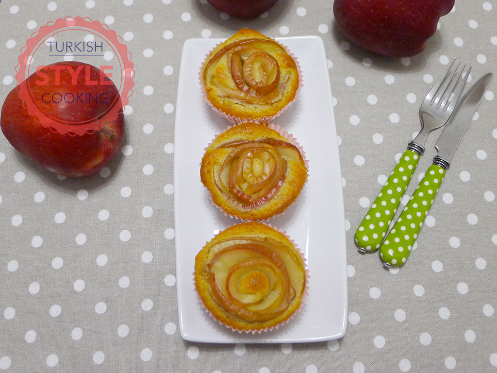 Apple Rose Muffins Recipe