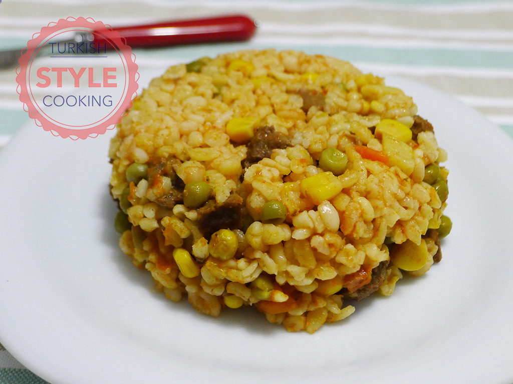 Bulghur Pilaf With Meat Recipe