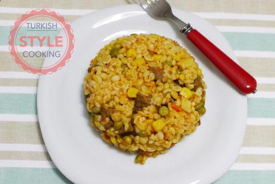 Bulghur Pilaf With Meat Recipe