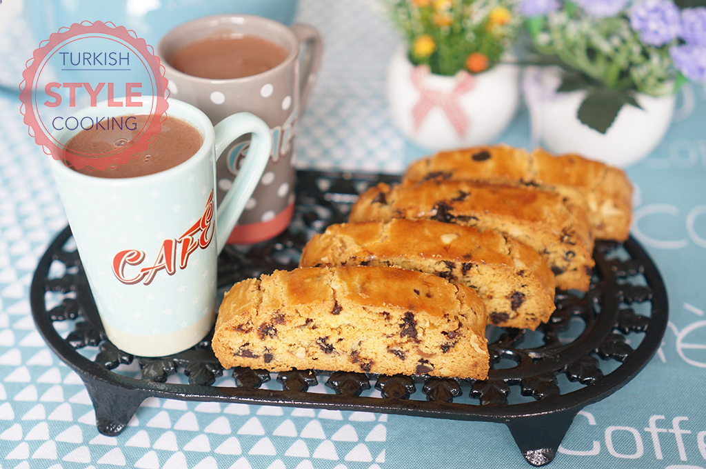 Chocolate Chip Hazelnut Biscotti Recipe