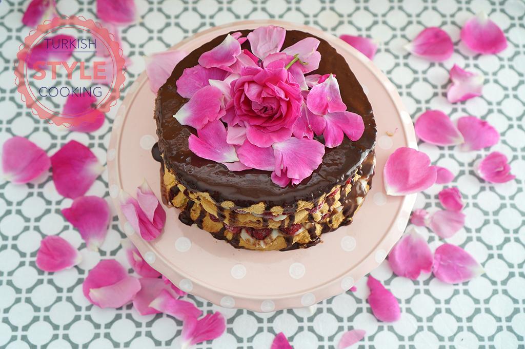 Rose Cake Recipe