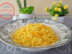 Carrot Bulghur Pilaf