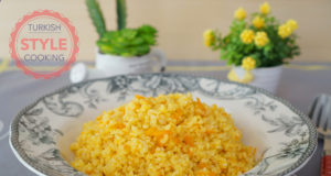 Carrot Bulghur Pilaf