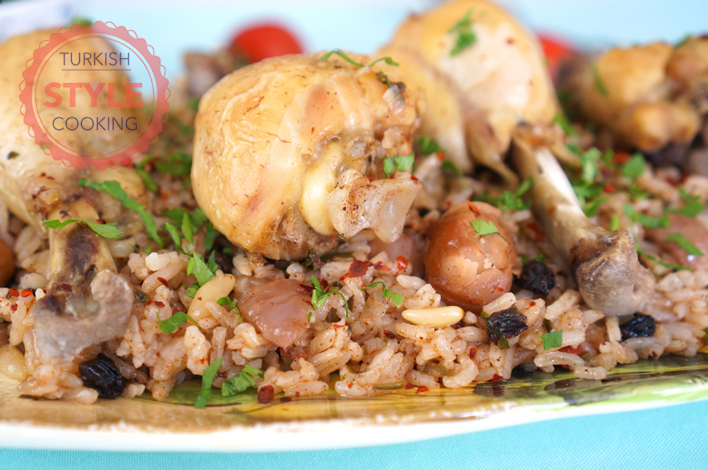 Chicken Drumstick Pilaf Recipe