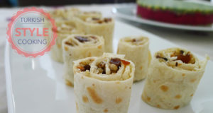 Dried Apricot Tortilla Rolls Recipe