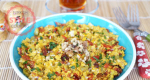 Dried Tomato Menemen Recipe
