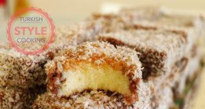 Starch Cake Lokum Recipe